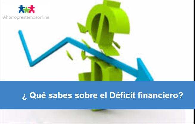 Déficit financiero